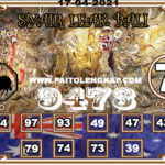 Syair Togel SYDNEY 17 April 2021